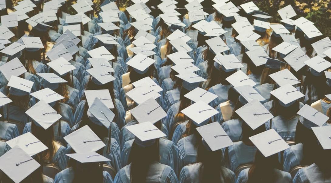 大学の卒業式